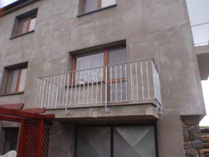 kovovýroba balkonové zábradlí