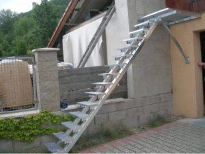 výroba schodů do patra