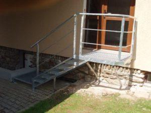 svaření schodiště